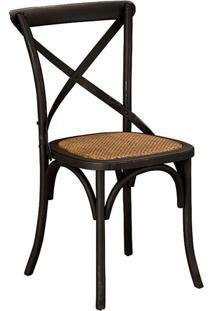 Cadeira Paris Cross Preta