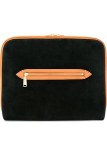 Tomorrowland Clutch Com Zíper - Preto