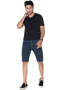 Bermuda La Portt Sport Fino Masculina - Masculino-Jeans