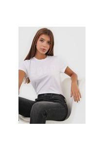 Camiseta Polo Ralph Lauren Logo Bordado Branca