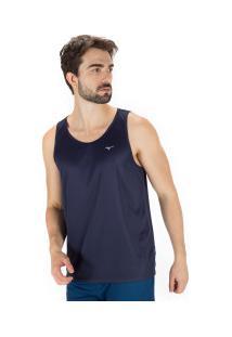 Camiseta Regata Mizuno Energy - Masculina - Azul Escuro