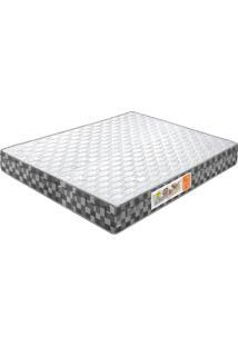 Colchão De Casal Compactor Double Face D-33 188X138X24 Branco C/Xadrez Celiflex