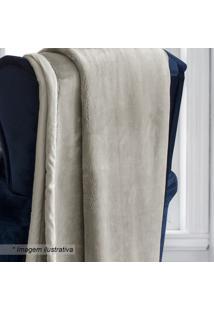 Cobertor Casal - Bege - 180X220Cm - Sultansultan