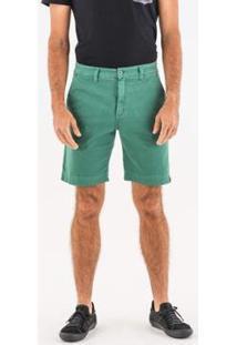 Bermuda Wöllner Sap Masculina - Masculino-Verde