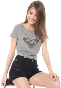 Camiseta Roxy Dear Wave Cinza