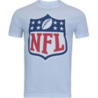 Camiseta New Era Logo Nfl - Masculina - Branco cb7e60a525d