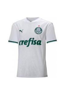 Camisa Palmeiras Infantil Puma 2 20/21 - Branca