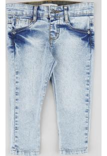 Calça Jeans Infantil Azul Claro