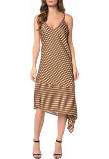Vestido Fenda Lateral - 36