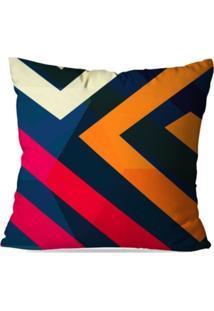 Capa De Almofada Avulsa Decorativas Color Abstrato - Unissex