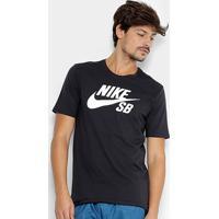 Camiseta Nike Sb Logo Masculina - Masculino 47be662c95b93