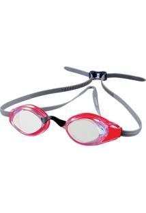 Óculos De Natação Tamanho Único Aquashark Vermelho Cristal Speedo