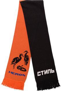 Heron Preston Cachecol Heron De Tricô - Preto