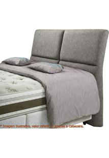 Cabeceira Super Confort Zevi Cinza Casal 1,60 Mt (Larg) - 49421 - Sun House