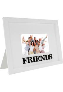 Porta Retrato Friends Para 1 Foto 10X15 Branco Kapos