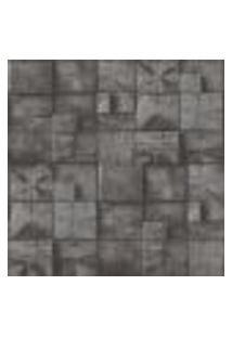 Papel De Parede Adesivo Decoração 53X10Cm Cinza -W21151