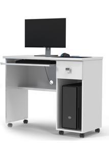 Mesa Para Computador Vicenza Branca Branco