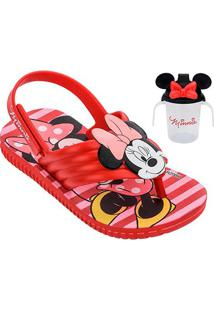 Sandália Infantil Grendene Kids Disney Minnie Feminina - Feminino