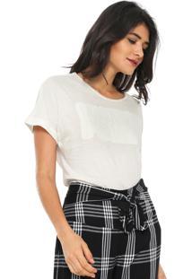 Camiseta Ana Hickmann Wonder Power Off-White