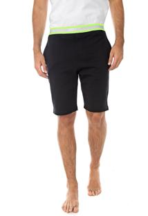 Bermuda Calvin Klein Underwear Reta Neon Hazard Rico Preta