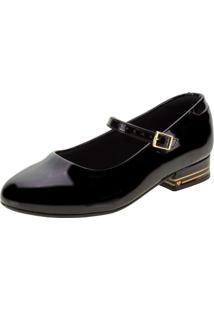 Sapato Infantil Feminino Molekinha - 2528201 Verniz/Preto 31