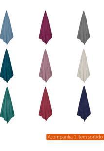 Cobertor Solteiro Microfribra Colorido 150X200 Cm