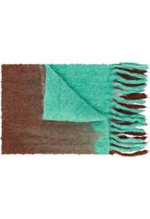 Acne Studios Cachecol Oversized Kelow Dye - Marrom