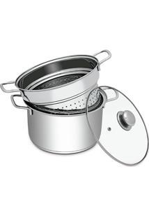 Espagueteira 4,4 Litros - Hércules - Prata