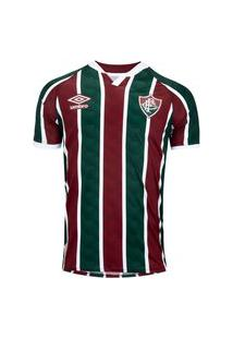 Camisa Umbro Fluminense Oficial I 2020 Masculina