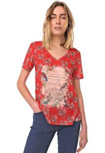 Camiseta Cantão Subli Guide Vermelha