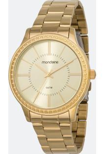 Kit Relógio Feminino Mondaine 99361Lpmvde1K Analógico + Conjunto Semijóia