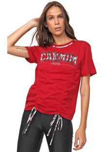 Camiseta Carmim Lavine Vermelha