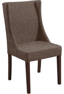 Cadeira De Jantar Sinar Linho Marrom