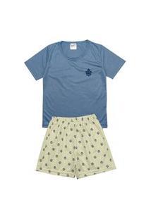Pijama Masculino Infantil Rotativo