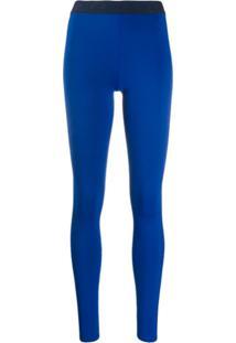 Reebok X Victoria Beckham Legging Slim - Azul