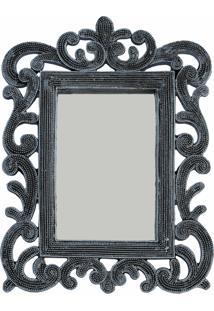 Espelho Casa Da Mãe Joana Siena Prata