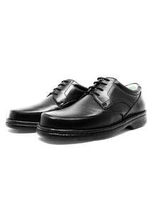 Sapato De Amarrar Masculino Confort Com Amortecedor 309/Pt