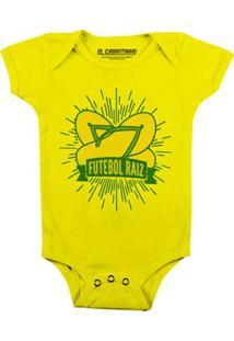 Futebol Raiz - Body Infantil