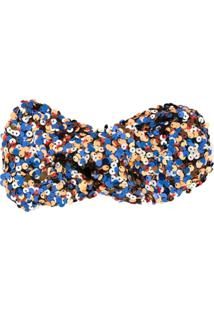 Ingie Paris Headband Com Paetês - Estampado