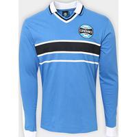 Camisa Manga Longa Grêmio Réplica 2001 Masculina - Masculino 22be5da288a09
