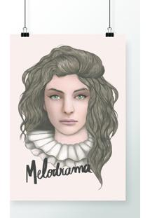 Poster Lorde