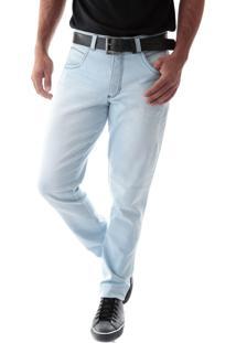 Calça 2247 Jeans Slim Traymon Azul Claro