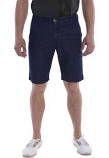 Bermuda Jeans Osmoze Masculina - Masculino-Azul