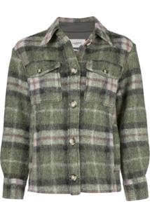 Isabel Marant Étoile Plaid Shirt Jacket - Verde
