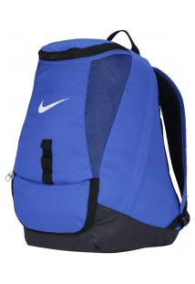 ac30e233e Mochila Nike Club Team Swoosh - Azul/Preto