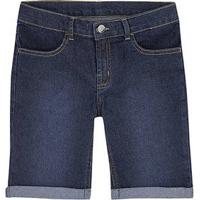 Bermuda Jeans Infantil Menino Com Lavação Escura Hering Kids 5a1ec33ea48a