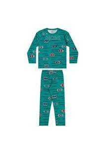Pijama Infantil Masculino Racing Elian