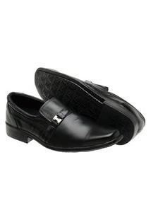 Sapato Social Masculino Em Couro De Alta Qualidade