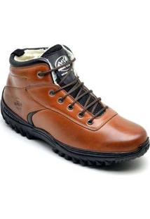 Bota Adventure Masculina Sandro Moscoloni Chilly Marrom Tan