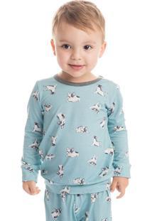 Pijama Bulldog Infantil Unissex